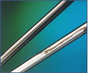 Chromium plated rod